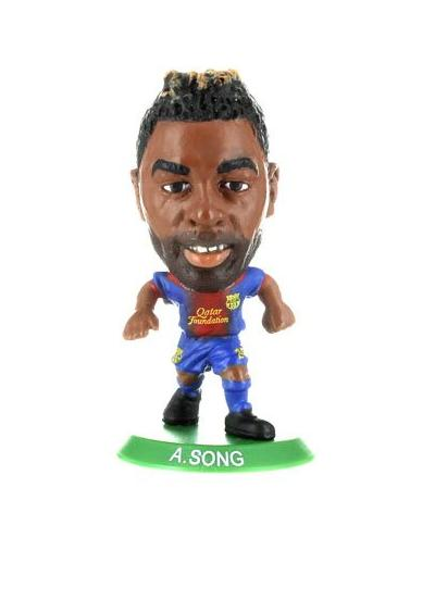 Soccerstarz Barcelona Alex Song Home Kit
