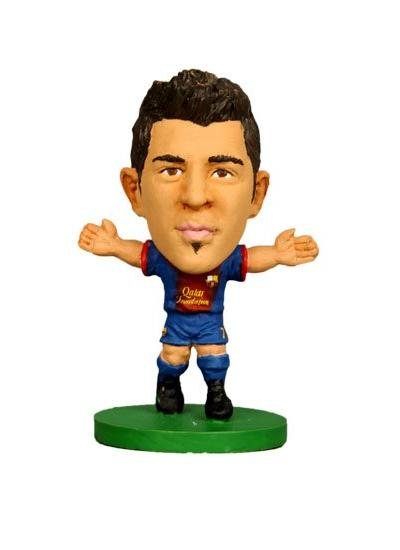 Soccerstarz Barcelona David Villa Home Kit