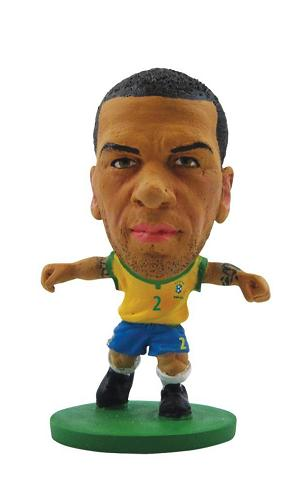 Soccerstarz Brazil Dani Alves Home Kit