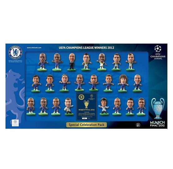 Soccerstarz Chelsea Champions League Pack 2012 Limited Edition