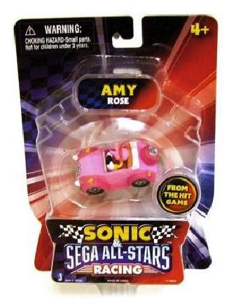 "Sonic All Star Racing 1.5"" Mini Racing (Amy Rose) - Toys"