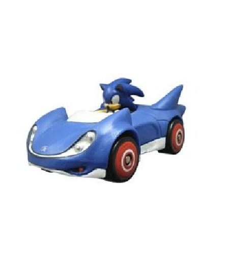 "Sonic All Star Racing 1.5"" Mini Racing Sonic - Toys"