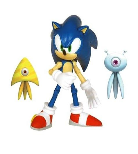 "Sonic Colours 5"" Figure + 2.5"" Wisps - Toys"