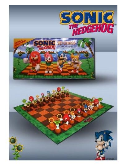 Sonic the Hedgehog Collectible Chess Set - Toys