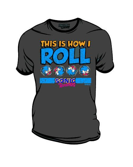 SONIC - This Is How I Roll (Charcoal) T-Shirt