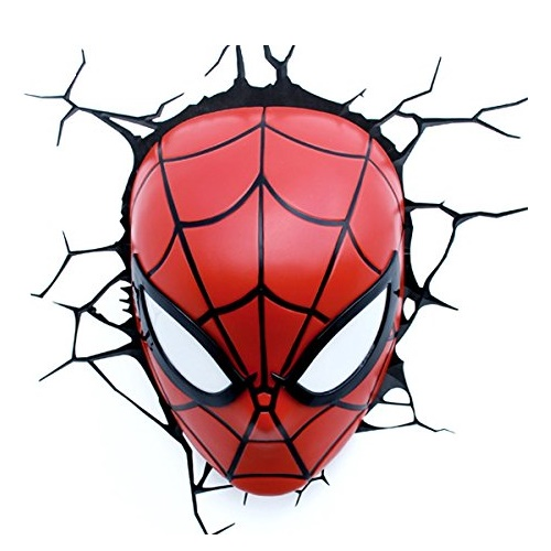 Spider-Man Face 3D Deco Light