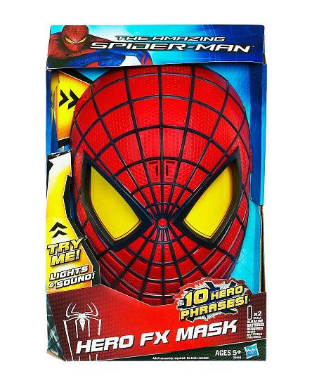 Spider-Man Hero FX Electronic Mask - Toys