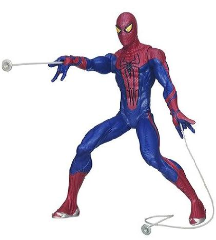 Spider-Man Motorised Web Shooting - Toys