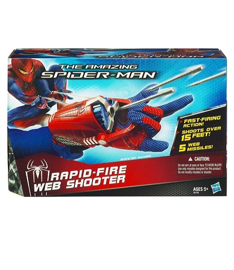Spider-Man Rapid Fire Web Shooter - Toys