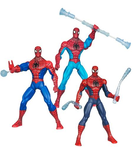 Spiderman Web Battlers Figure Assorted (25912) - Toys