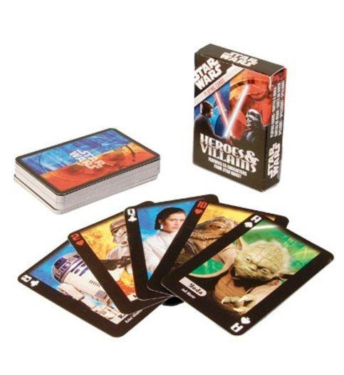 Star Wars Heroes & Villains Playing Cards - Toys