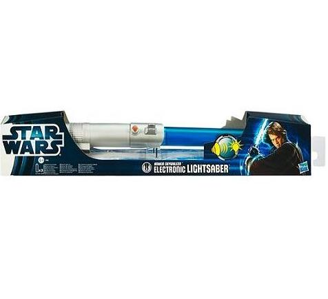 Star Wars Movie Electronic Lightsaber Assortment - Toys