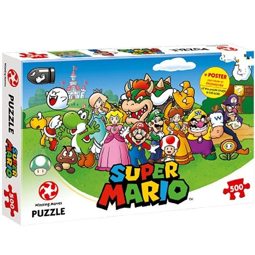 Super Mario & Friends (500 piece) Puzzle