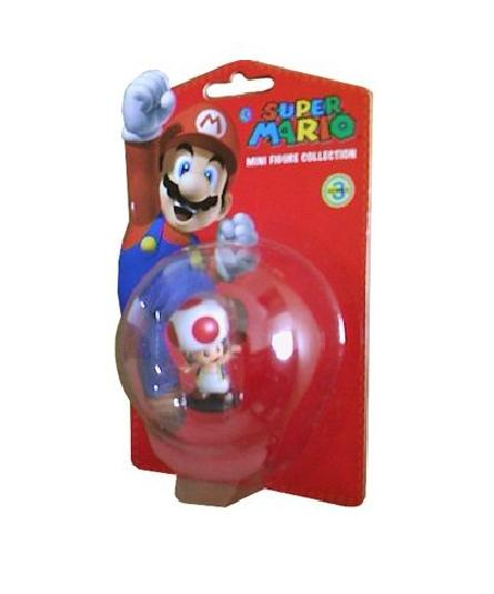Super Mario Mini Figures 6 cm Series 3 TOAD - Figures