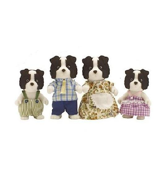 Sylvanian Border Collie Family - Toys