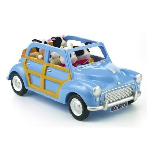 Sylvanian Families Blue Family Car - Toys