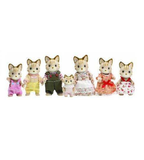 Sylvanian Families Celebration Cat Family - Toys