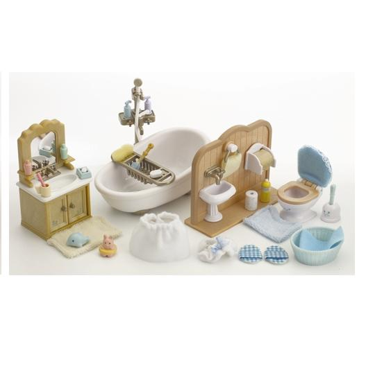 Sylvanian Families Country Bathroom Set - Toys