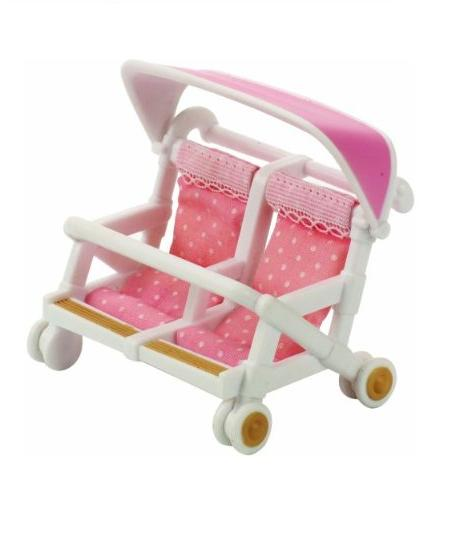 Sylvanian Families Double Pushchair - Toys