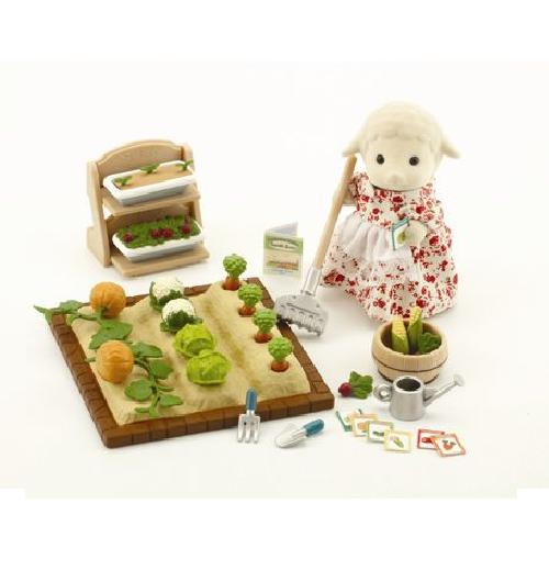 Sylvanian Families Farm Vegetable Patch - Toys