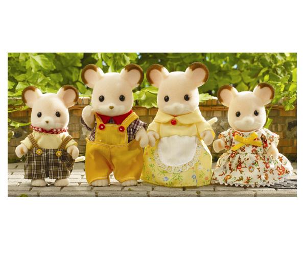 Sylvanian Families Field Mouse Family - Toys
