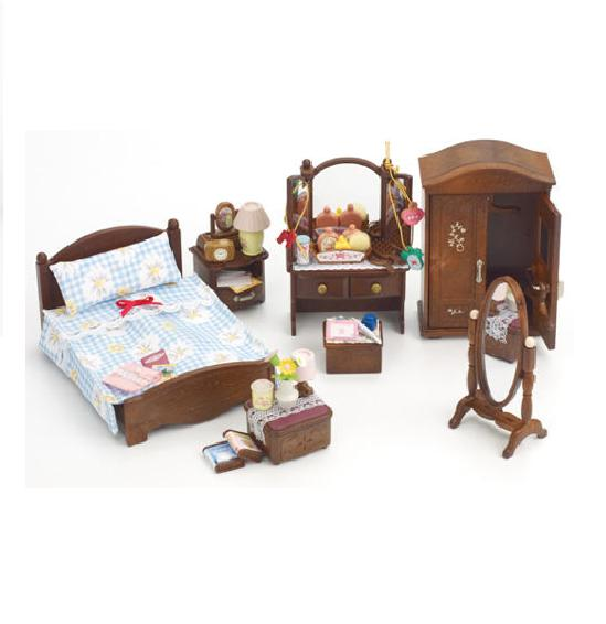 Sylvanian Families Master Bedroom Set - Toys