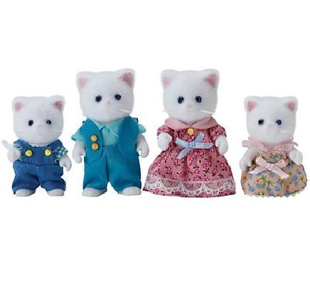 Sylvanian Families Persian Cat Family - Toys