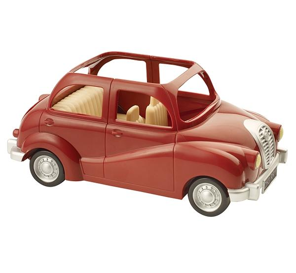 Sylvanian Families Red Saloon Car - Toys
