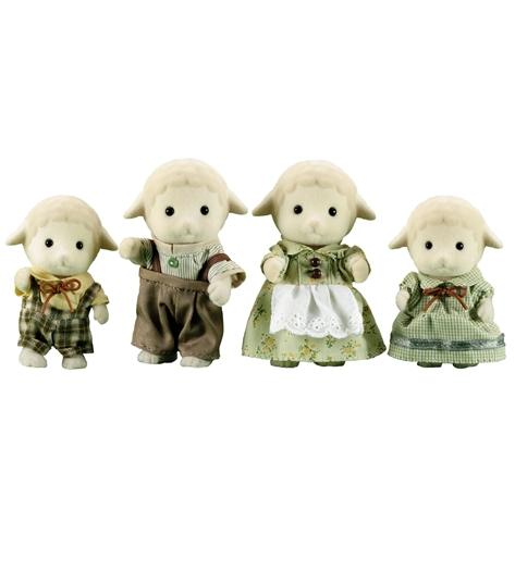 Sylvanian Families Sheep Family Set - Toys