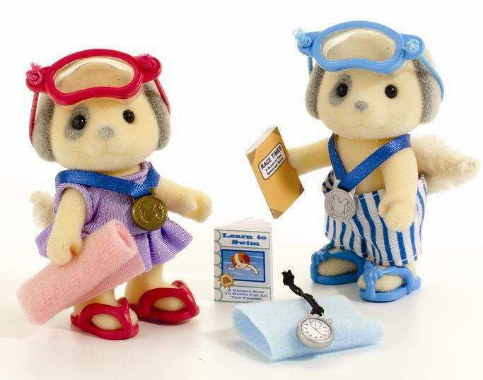 Sylvanian Families: Swimming Games Set - Toys