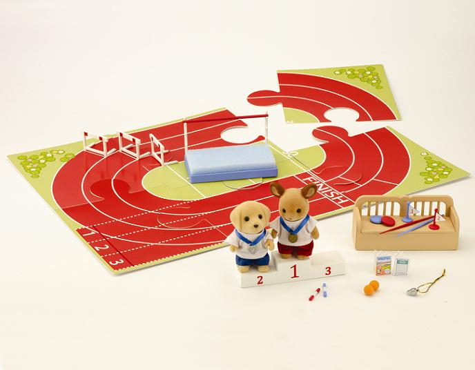 Sylvanian Games Athletics Set - Toys