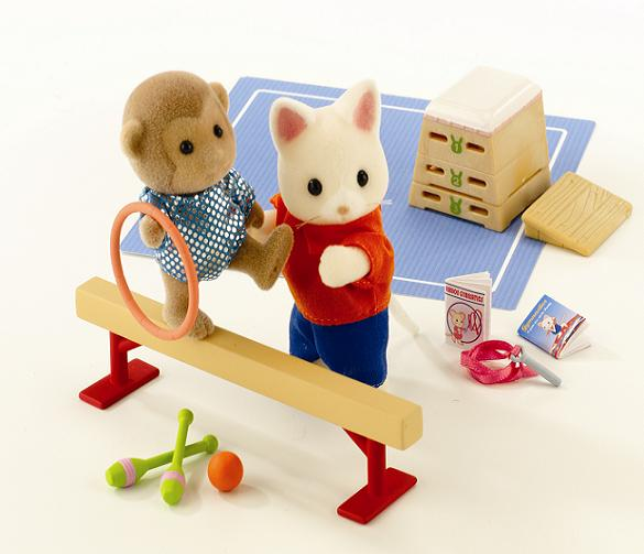 Sylvanian Games Gymnastics Set - Toys