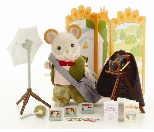 Sylvanian Wedding Photographer Set - Toys