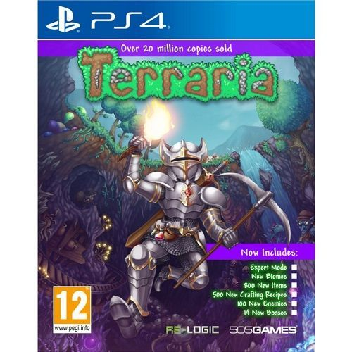Terraria 2018 Edition PS4 Game