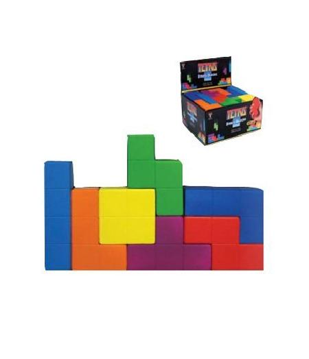 Tetris Stress Block CDU (Pack of 28) - Toys