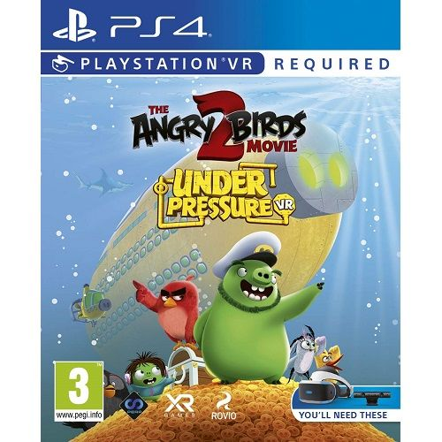 The Angry Birds Movie 2 VR Under Pressure PS4 Game