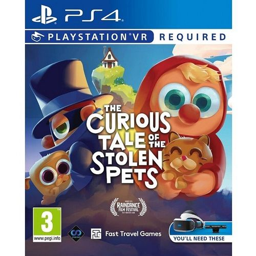The Curious Tale of The Stolen Pets [PSVR Required] PS4 Game