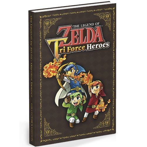 The Legend Of Zelda Tri Force Heroes Collectors Guide