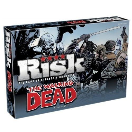 The Walking Dead Risk Board Game