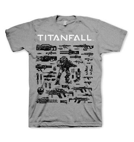 Titanfall Choose your Weapon T-Shirt