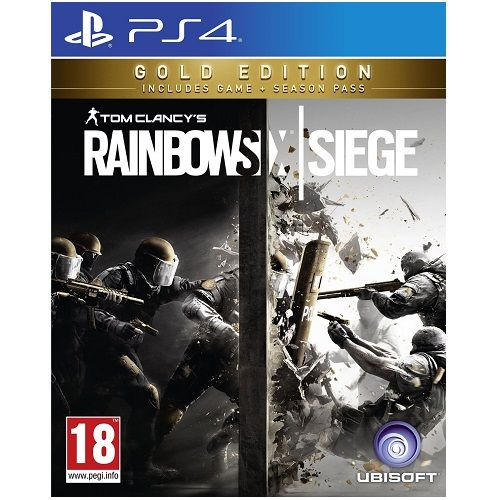 Tom Clancys Rainbow Six Siege Gold Edition PS4 Game
