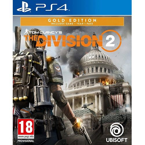 Tom Clancys The Division 2 Gold Edition PS4 Game
