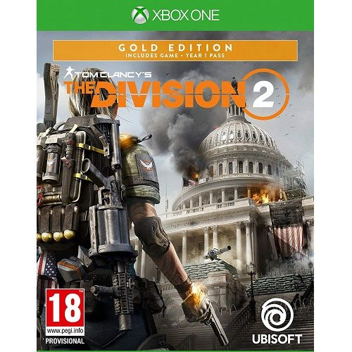 Tom Clancys The Division 2 Gold Edition Xbox One Game