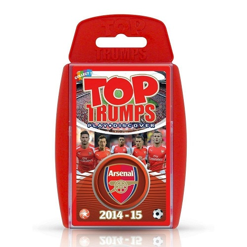 Top Trumps Arsenal FC Edition 2014/15