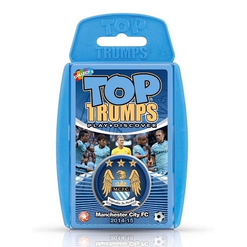 Top Trumps Manchester City FC 2014/15