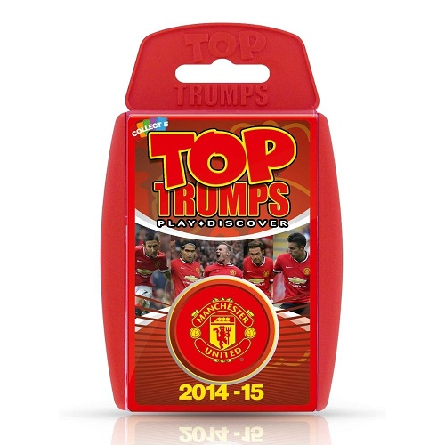 Top Trumps Manchester United 2014/15