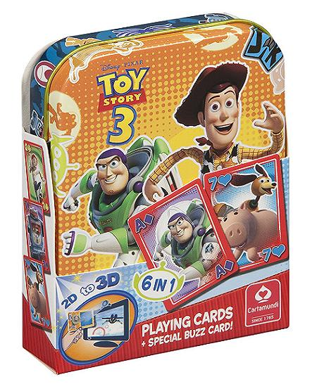 Toy Story 3 Playing Cards in Metal Tin