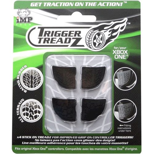 Trigger Treadz 4 Pack Black for Xbox One