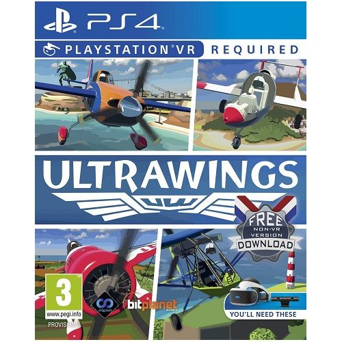 Ultrawings [PSVR Required] PS4 Game
