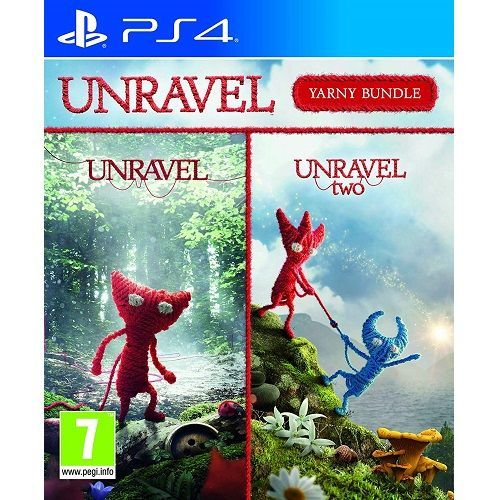Unravel Yarny Bundle PS4 Game